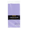 Lavender Plastic Table Cover
