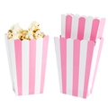 Light Pink Popcorn Box - 5CT