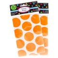 Orange Dot Paper Favor Bags - 10CT