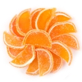 Orange Jelly Fruit Slices