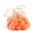 Orange Organza Bag - 12CT Bag