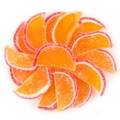 Peach Jelly Fruit Slices