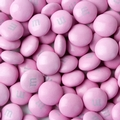 Pink M&M's Chocolate Candy