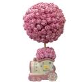 Pink Round Topiary