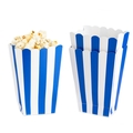 Royal Blue Popcorn Box - 5CT