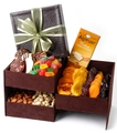 Passover Suede Gift Box - Triple the Goodies