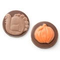 Thanksgiving Chocolate Discs 2PC