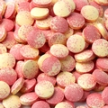 Pink & Yellow Sweet Tarts Candy Tablets - Strawberry Banana