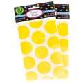 Yellow Dot Paper Favor Bags - 10CT