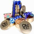 Hanukkah Keepsake Tin Tower
