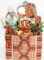 Brown Shabbos Gift Basket