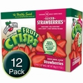 Freeze-Dried Strawberry Fruit Crisps - 12CT Box