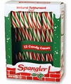 Red & Green Peppermint Candy Canes - 12CT Box
