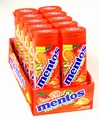 Mentos Juicy Blast Tropical Fruit Gum - 10CT Box