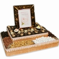 Two Tier Mazel Tov Picture Frame
