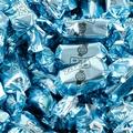 Baby Blue Foiled Zaza Chews - Blue Raspberry