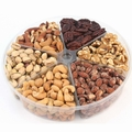 Passover 6-Section Assorted Nut Platter