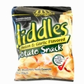 Diddles Onion Garlic Potato Snacks - 6-Pack