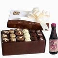 Purim Oh! Nuts Chocolate Truffle Gift Box - 18 Pc.
