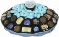 Baby Boy Wicker Gift