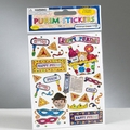 Prismatic Purim Stickers