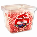 Cherry Dum Dum Pops - 1 LB Tub