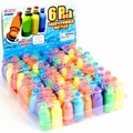 6-Pack Candy Powder Bottles 12CT Box