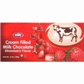 Elite Milk Chocolate Bar Filled Strawberry Cream - 12CT Box