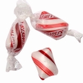 Red & White Mint Twists Hard Candy