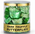 Dark Chocolate Truffle Butterflies - 35CT Tub