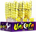 Yellow & White Unicorn Pops - Lemon