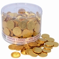 Nut-Free Chocolate Coin Tub - 360 Coins