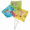Bat Bat Multi Colored Heart Lollipops