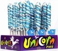 Blue & White Unicorn Pops - Blueberry