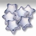Silver Foiled Milk Chocolate Stars