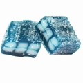 Blue Raspberry Licorice Sour Gummy Cubes
