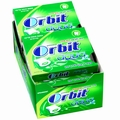 Orbit Aqua Spearmint Gum Pellets - 10CT Box