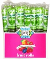 Green Apple Fruit Leather Rolls - 5-Pack