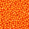 Orange Shimmer Pearl Candy Beads