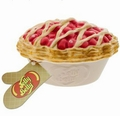 Ceramic Cherry Pie-Shaped Candy Dish with Very Cherry Jelly Beans