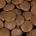 Brown Melting Milk Chocolate Wafers