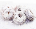Hanukkah Sugar Dusted Mini Donuts - 6CT Box