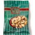 Roasted Unsalted Cashews Snack Pack - 12CT Box