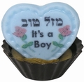 It's A Boy Chocolate Miniature