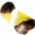 Dark Chocolate Dipped Pears