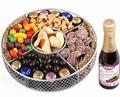 Purim Round Gift Tray