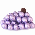 Lavender Foiled Milk Chocolate Balls