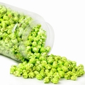 Green Candy Coated Popcorn - Green Apple