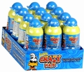 Crazy Hair Sour Blue Raspberry Candy - 12CT Box