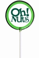 Green Oh! Nuts Lollipop - Sour Apple